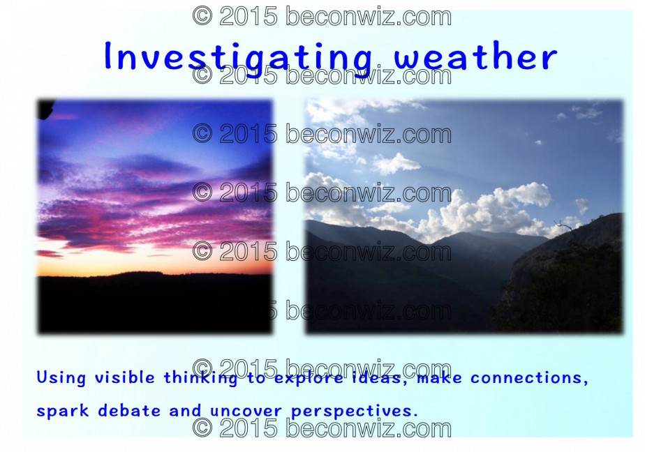 Investigating weather