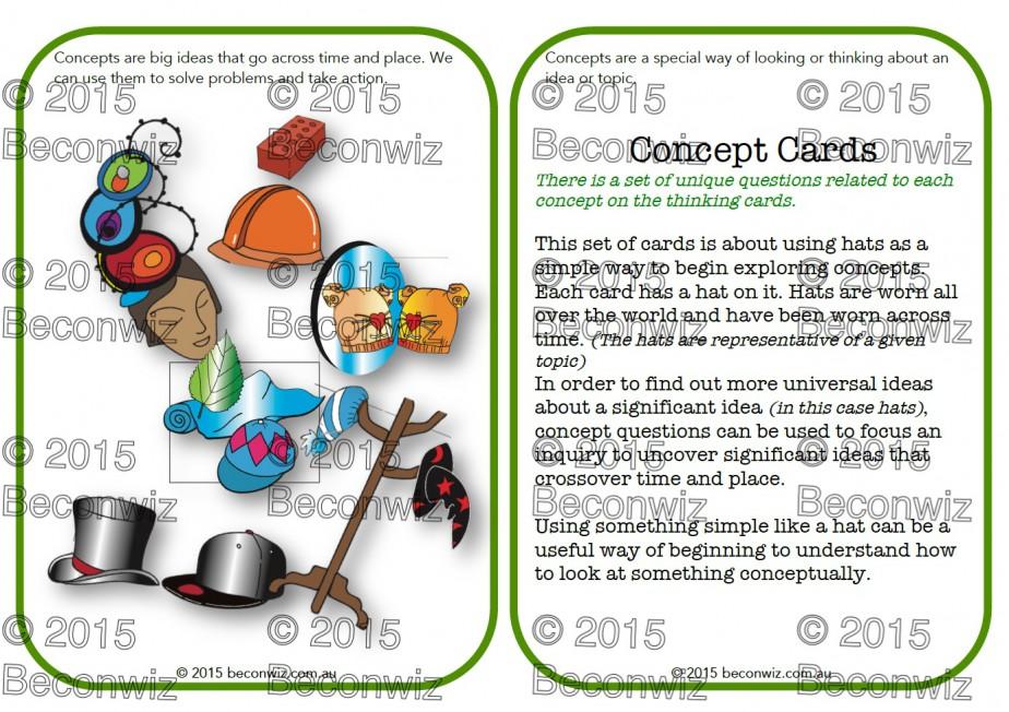 PYP concept cards