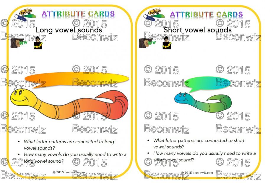 Vowel inquiries, long vowels, short vowels