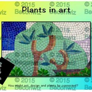 plants in art