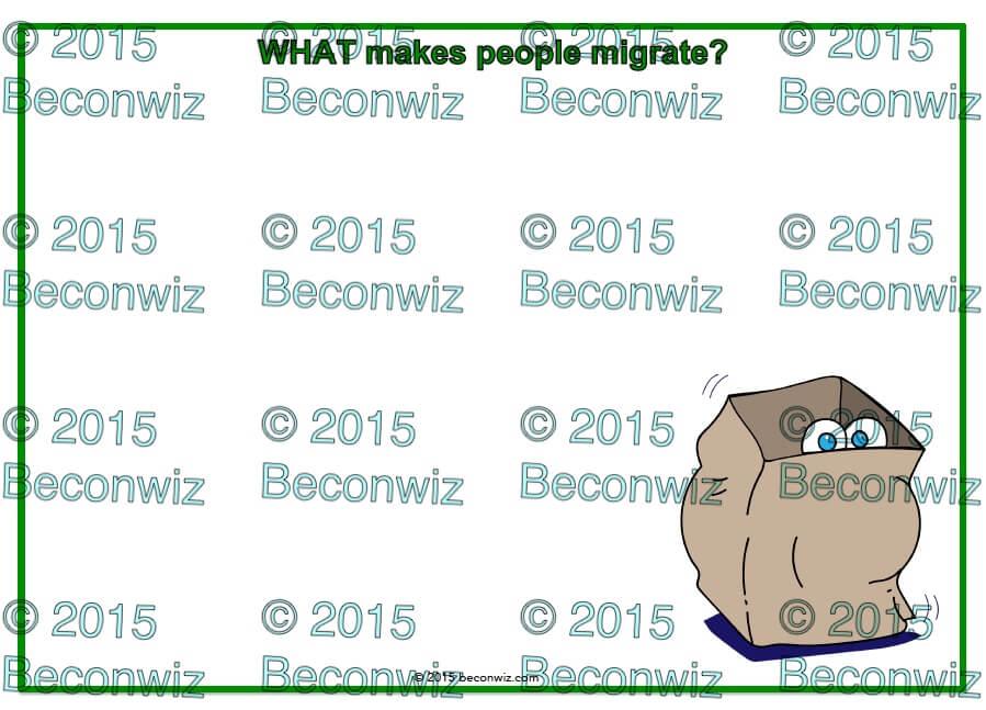 human migration, immigration