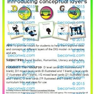 Reading comprehension DIG levelled cards