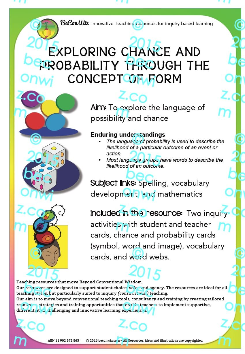 EXPLORING CHANCE AND PROBABILITY