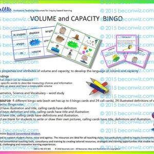 Math Game BINGO V&C