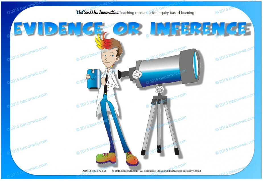 Evidence to Inference