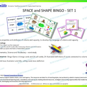 Space and Shape Bingo
