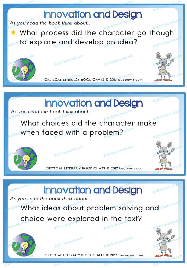 Design and Innovation Book Chat