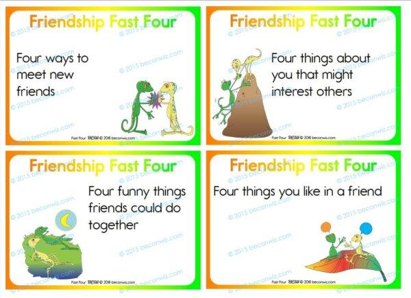 FRIENDSHIP FAST FOUR