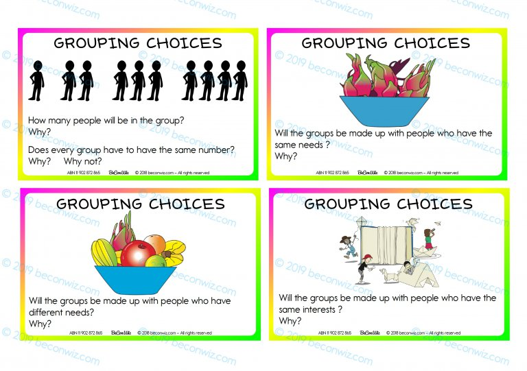 AGENCY IN LEARNING GROUPING STRATEGIES