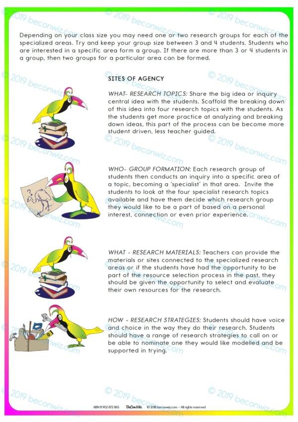 AGENCY IN LEARNING JIGSAW RESEARCH