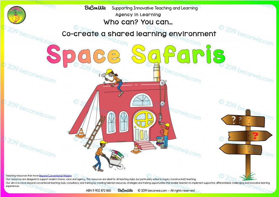 Co-created learning Spaces SPACE SAFARI