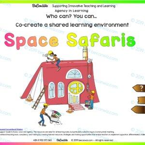Co-created learning Spaces SPACE SAFARI